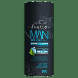 SHAMPOO MAN MENTHOL 400 ML