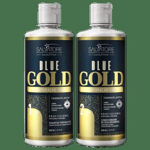 BLUE GOLD 500ML PASSO 1 E 2