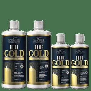 BLUE GOLD 1L+500ML PASSO 1 E 2