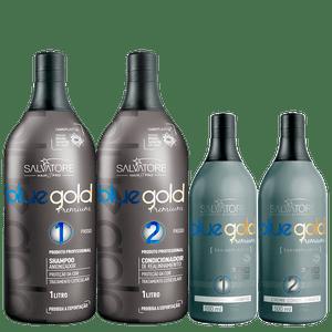 BLUE GOLD PREMIUM 1L+500ML PASSO 1 E 2