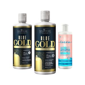 Blue Gold 500ml Tradicional + Gel Hidratante Antisséptico